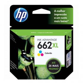 Cartucho HP 662XL Colorido CZ106AB