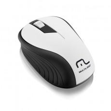 Mouse Sem fio USB 2.4GHZ MO216 Preto e Branco