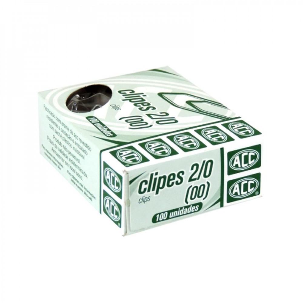 Clips Galvanizados 2/0 117 com 100